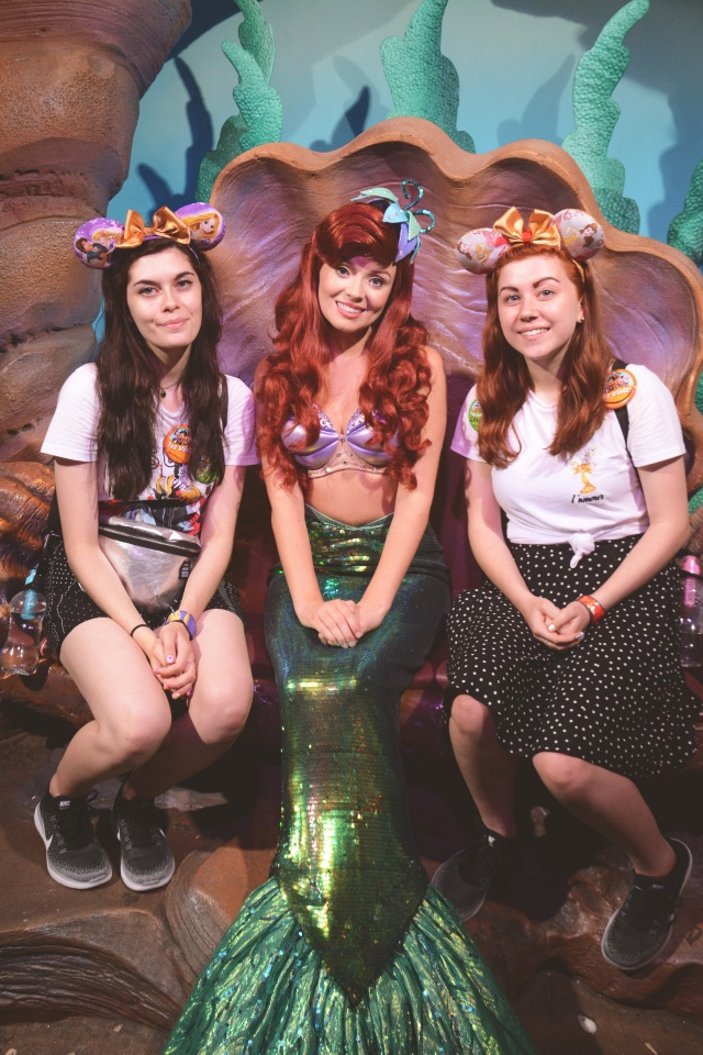 5 character meet and greets you must do at disney world the flower ariel magic kingdom we managed to meet ariel on our 1st day in disney and we were so happy wed used all our fast passes for that day but managed to get m4hsunfo