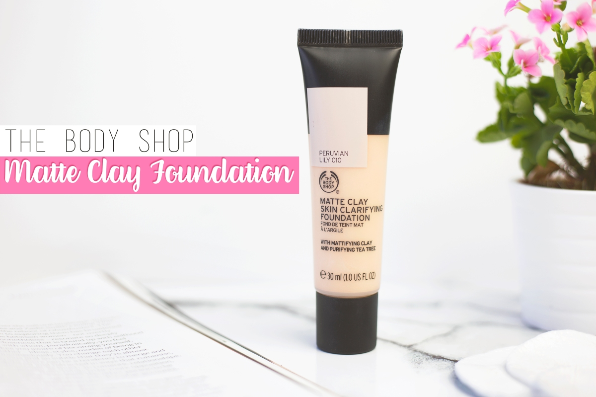 The Body Shop Matte Clay Foundation Review | Rachel