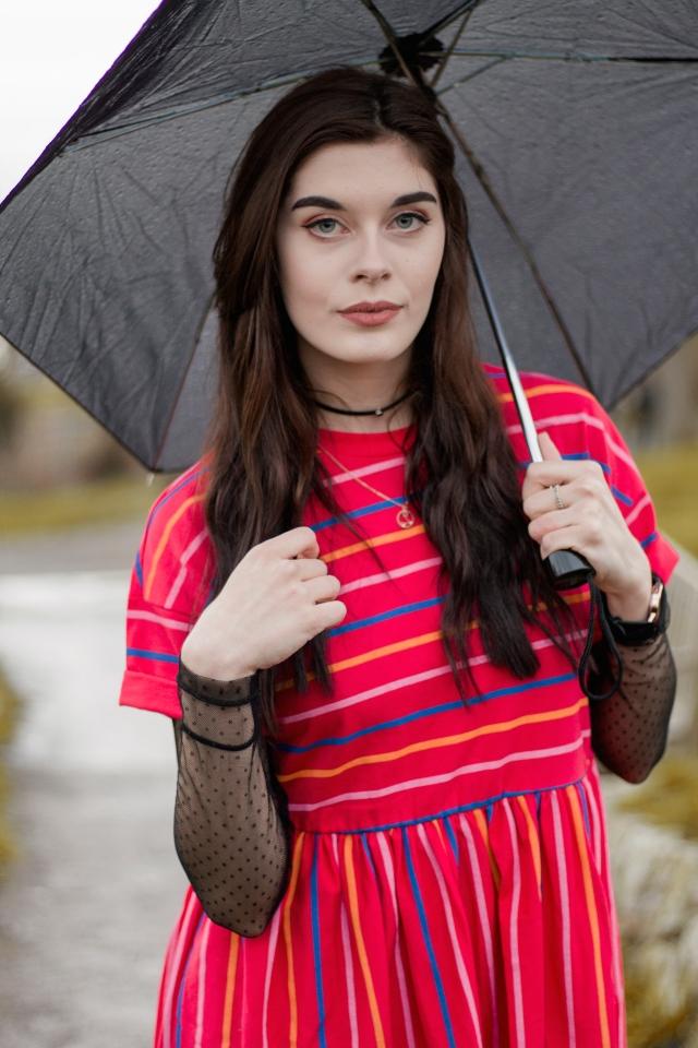 pink smock dress 8